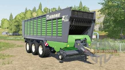 Krone ZX 560 GD increased capacity para Farming Simulator 2017