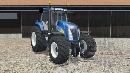 New Holland T8020 science blue para Farming Simulator 2015