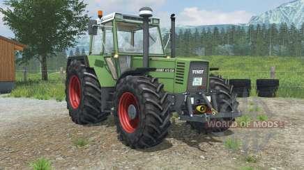 Fendt Favorit 615 LSA Turbomatik E para Farming Simulator 2013