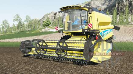 New Holland TC5.90 & Varifeed 18FT para Farming Simulator 2017