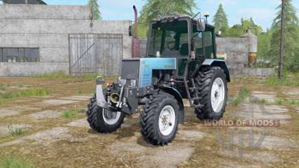 MTZ-1025 con delanteros de tres puntos de enganche para Farming Simulator 2017