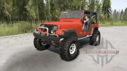 Jeep Wrangler (YJ) 1989 para MudRunner