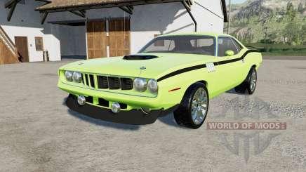Plymouth Hemi Cuda 426 1971 para Farming Simulator 2017