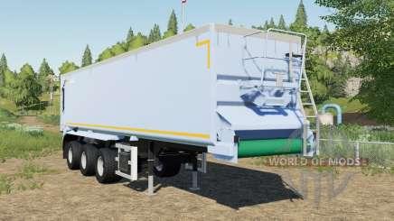 Krampe SB II 30-1070 adjusted tipper back door para Farming Simulator 2017