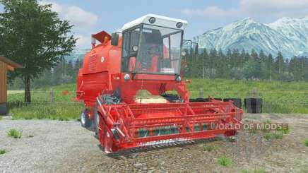 Bizon Rekord Z058 coral red para Farming Simulator 2013