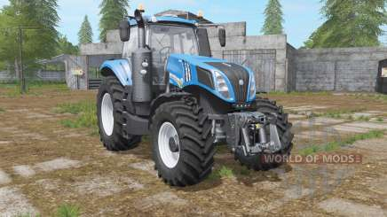 New Holland T8.435 with power options para Farming Simulator 2017