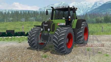 Fendt 820 Vario TMS zwillingsreifen para Farming Simulator 2013