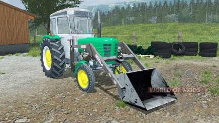 Ursus C-4011 with front loader para Farming Simulator 2013