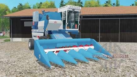 Yenisei-1200 NM con los segadores para Farming Simulator 2015