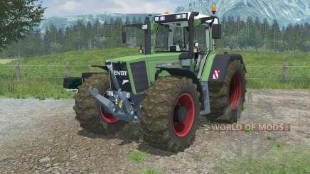 Fendt Favorit 926 Vario wheels duster para Farming Simulator 2013