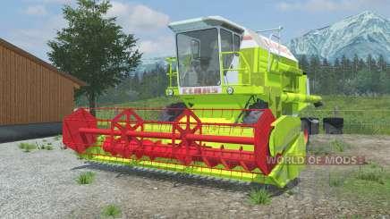 Claas Dominator 106 vivid lime green para Farming Simulator 2013