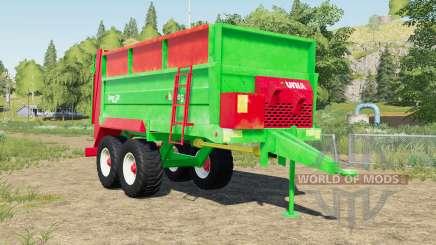 Unia Tytan 10 design selection para Farming Simulator 2017