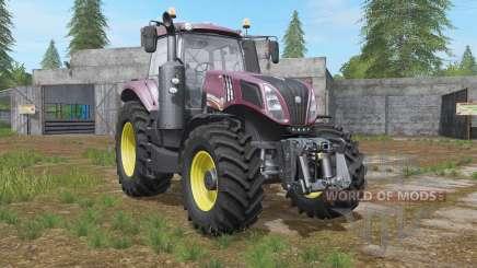 New Holland T8.435 front loader option para Farming Simulator 2017