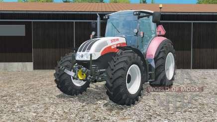 Steyr 6230 CVT weight increased para Farming Simulator 2015