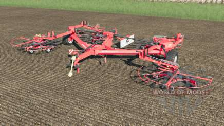 Lely Hibiscus 1515 CD Profi work speed 38 km-h para Farming Simulator 2017