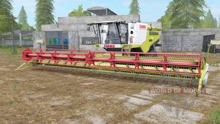 Claas Lexion 780 TerraTrac wattle para Farming Simulator 2017