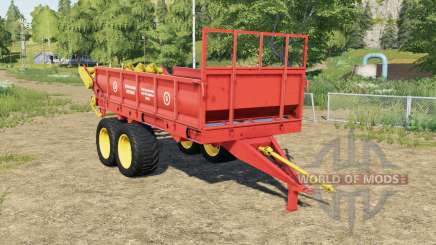 ROWE-6 con la animación de partículas para Farming Simulator 2017