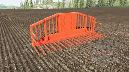 Silage Fork volume 25000 liters para Farming Simulator 2017