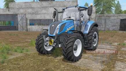 New Holland T5.100 chip tuning para Farming Simulator 2017