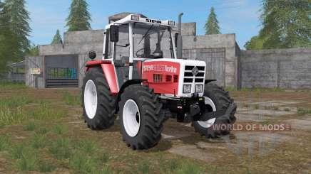 Steyr 8090A Turbo carmine pink para Farming Simulator 2017