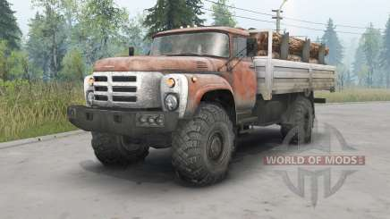 ZIL-133GÂ 4x4 para Spin Tires