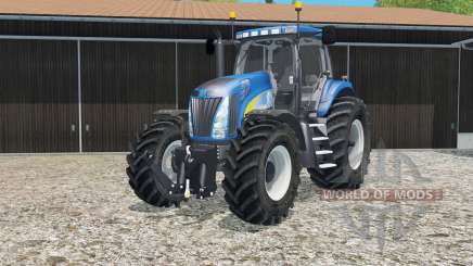 New Holland T8020 tire marks para Farming Simulator 2015