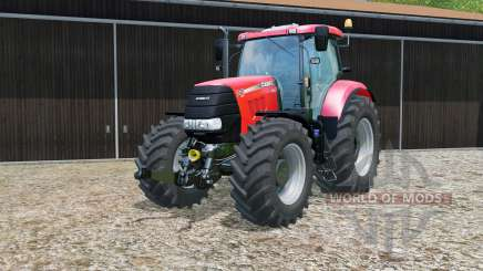 Case IH Puma 230 CVX pigment red para Farming Simulator 2015