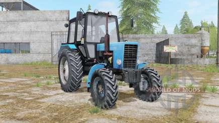 MTZ-82.1 Bielorrusia, con tres opciones para Farming Simulator 2017
