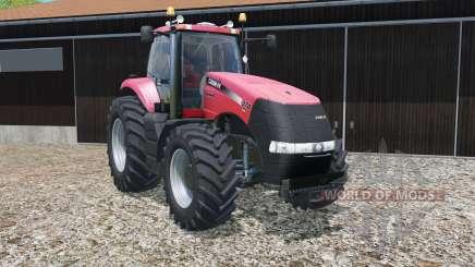 Case IH Magnum CVX with different wheel widths para Farming Simulator 2015