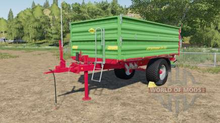Strautmann SEK 802 with rear hose connections para Farming Simulator 2017