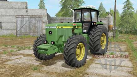 John Deere 4755 may green para Farming Simulator 2017
