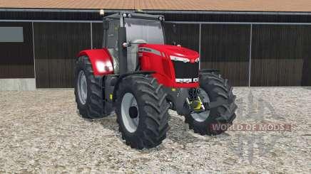 Massey Ferguson 7622 crayola red para Farming Simulator 2015