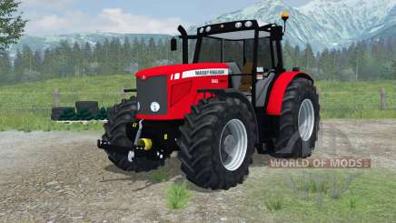 Massey Ferguson 6480 More Realistic para Farming Simulator 2013