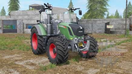 Fendt 300 Vario sea green para Farming Simulator 2017