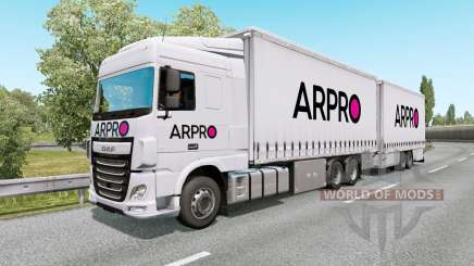 Painted BDF Traffic Pack v6.7 para Euro Truck Simulator 2