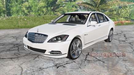 Mercedes-Benz S 600 (W221) 2010 para BeamNG Drive