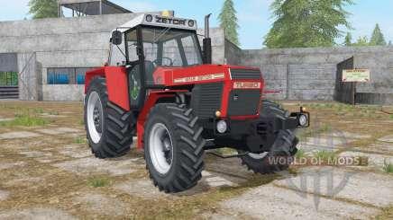 Zetor 16145 Turbo complete dirt para Farming Simulator 2017