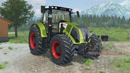 Claas Axion 850 with MX T12 para Farming Simulator 2013