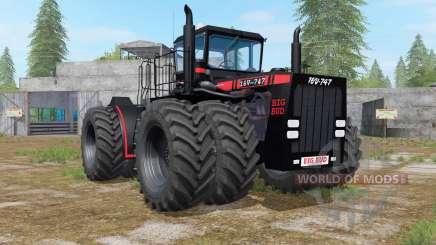Big Bud 16V-747 black para Farming Simulator 2017