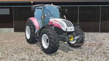 Steyr 6230 CVT has more power para Farming Simulator 2015