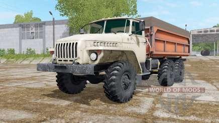 Ural-5557 con tres variantes del cuerpo para Farming Simulator 2017