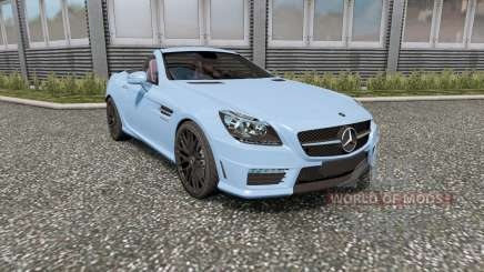Mercedes-Benz SLK 55 AMG (R172) 2012 para Euro Truck Simulator 2
