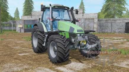 Deutz-Fahr Agrotron 120 MK3 animated axle para Farming Simulator 2017