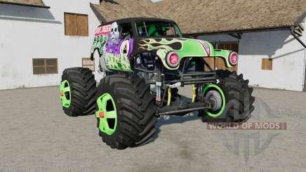 Grave Digger Monster Truck para Farming Simulator 2017