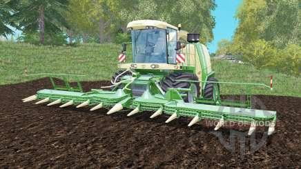 Krone BiG X 1100 capacity 100000 liters para Farming Simulator 2015