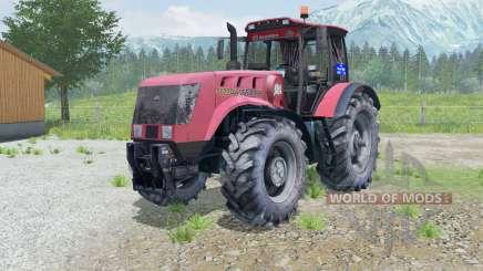 MTZ-3022ДЦ.1 Belarús animados eje delantero para Farming Simulator 2013