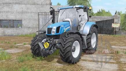 New Holland T6.140&T6.160 para Farming Simulator 2017