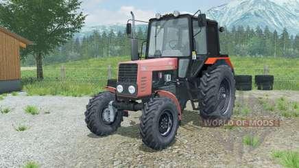 MTZ-82.1 Belarús suave-rojo para Farming Simulator 2013