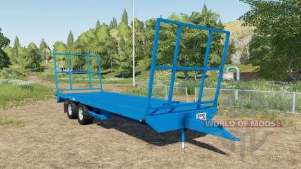 Robo bale trailer para Farming Simulator 2017