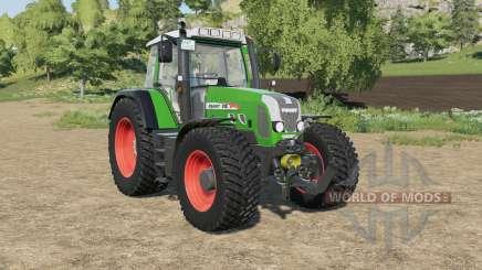 Fendt 818 Vario TMS north texas green para Farming Simulator 2017